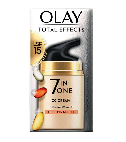 OLAY Total Effects CC Cream Light to Medium - 50 ml