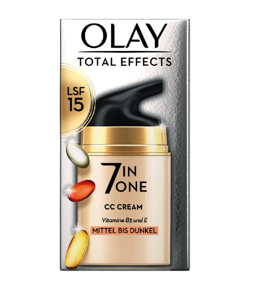 OLAY Total Effects CC Cream Medium to Dark - 50 ml