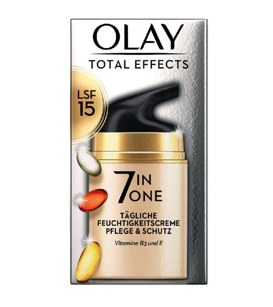 OLAY Total Effects Daily Moisturizer SPF 15 - 50 ml