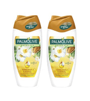 2x Pack Palmolive Naturals Bath/Shower Cream Camellia Oil & Almond 250 ml - Eurodeal.shop