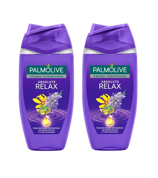 2x Palmolive Shower Aroma Sensations Absolute Relax (250 ml each) - Eurodeal.shop