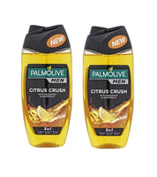 2x Pack Palmolive Citrus Crush 3-in-1 Shower Gel & Shampoo 250 ml each - Eurodeal.shop