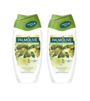 2x Palmolive Naturals Cream Shower Gel Olive and Milk (250 ml each) - Eurodeal.shop