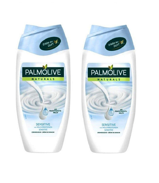 2X Pack Palmolive Naturals Bath/Shower Cream Sensitive 250 ml each - Eurodeal.shop