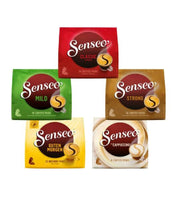 SENSEO Coffee Pads Variety Pack - 66 Pads - Five Different Varieties