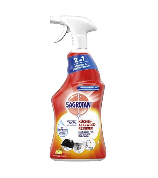 SAGROTAN All-purpose 2-in-1 Kitchen Disinfectant Cleaner - 750 ml