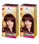 2xPack Schwarzkopf Country Colors Intensive Tint - Madagascar 75 Red Black