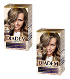 2xPack Schwarzkopf Diadem Silk Cream Hair Color for Women - 17 Varieties