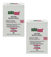 2xPack SEBAMED Intimate Wash Gel pH 3.8 for Younger Women - 400 ml