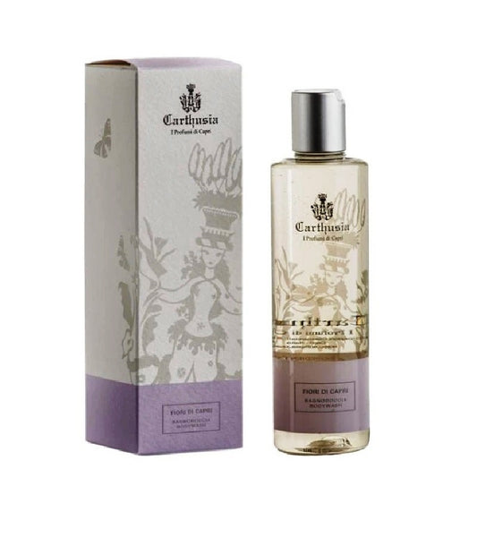 Carthusia Flowers Of Capri Shower Gel with Sandalwood, Mandarin and White Musk - 250 ml