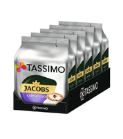 4-Packs TASSIMO Jacobs Cappuccino Choco T Discs Coffee Capsules 4 x 8 Drinks