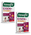 2xPacks Taxofit Iron + Vitamin C Capsules - For Iron Deficiancy