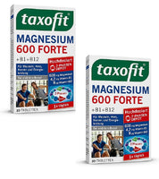 2x Packs Taxofit Magnesium 600 Forte Depot Tablets, (60 Tablets)