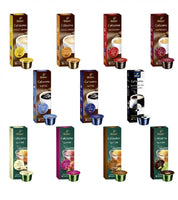 Tchibo Cafissimo Collection 110 Capsules - Coffee Classics and Tea Collection