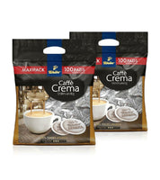 2xPack Tchibo Caffé Crema Full-bodied Coffe Advantage Pack - 200 Pads