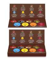 2xPack Tchibo Tasting Box Cafissimo Coffee Capsules - 8 Different Flavors (16 Capsules)