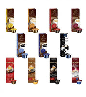Tchibio Tasting Box Coffee, Eduscho, Cafissimo, 110 Capsules - 11 Variety Collection - Eurodeal.shop