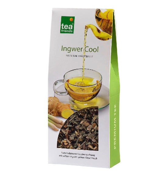 3xPack TeaFriends - Ginger Cool Herbal Tea - 270 g