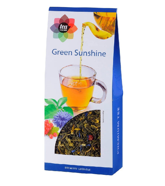 3xPack TeaFriends Green Sunshine Herbal Green Tea - 270 g