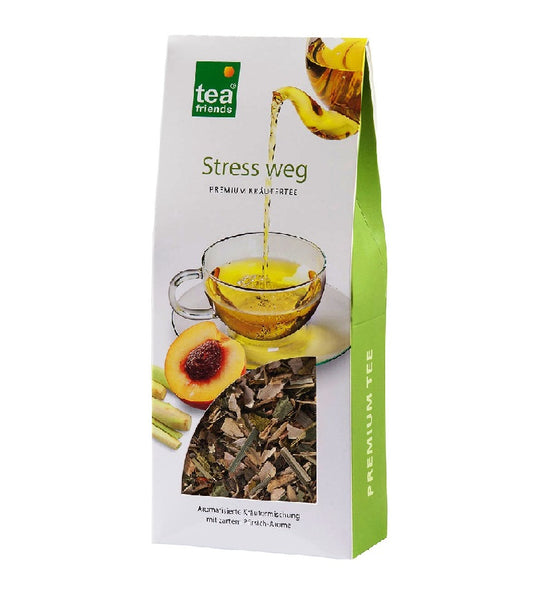 3xPack TeaFriends - Stress Gone Herbal Tea - 270 g