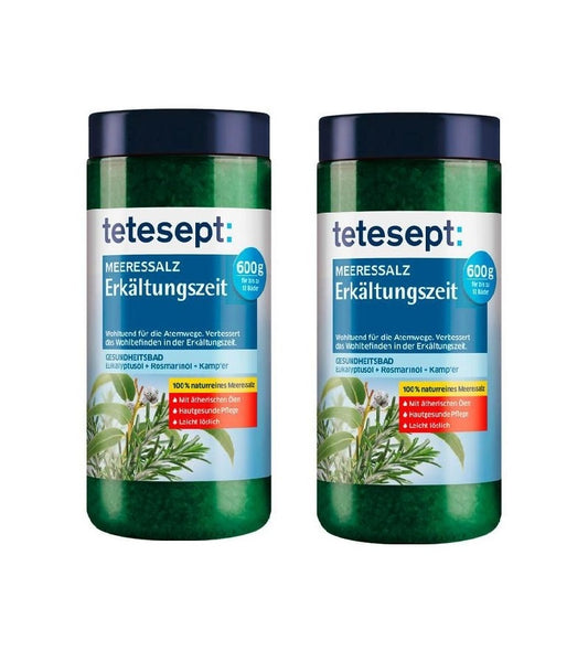 Tetesept Bath Salt for Cold Relief - Eurodeal.shop