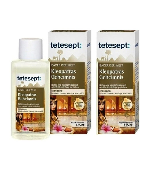 2xPack Tetesept Cleopatra's Secret Bath Oil  - 250 ml