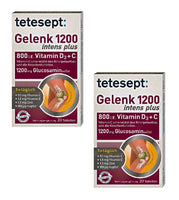 2xPack Tetesept Joint (Gelenk) 1200 Intense Plus Tablets
