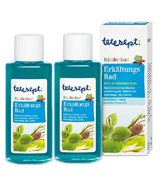 2xPack Tetesept Kids Cold Relief Bath Oil - 250 ml