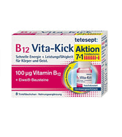 TETESEPT B12 Vita-Kick Drinking Tapsules Fast Energy+Performance for Body & Mind - 8 Tabsules - Eurodeal.shop