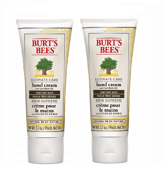 2xPack BURT'S BEES Ultimate Care Hand Cream for Very Dry Skin - 100 g