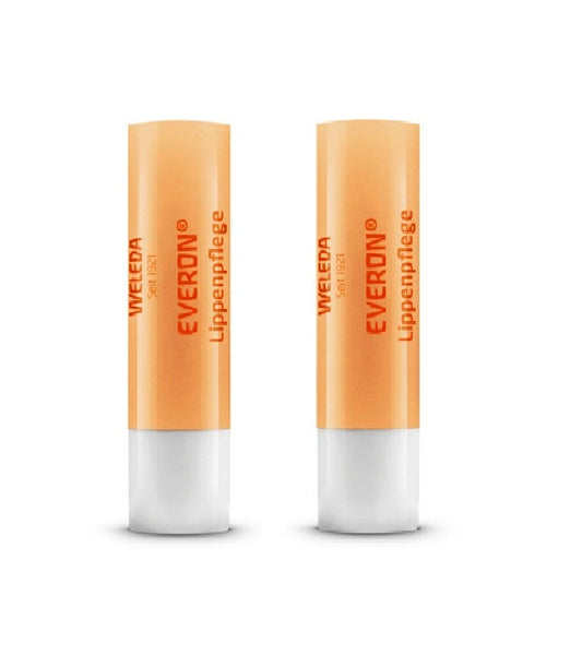 2xPack WELEDA Everon Lip Care