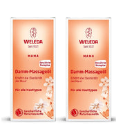 2xPack WELEDA Pregnancy and Lactation Damm Massage Oil - 100 ml