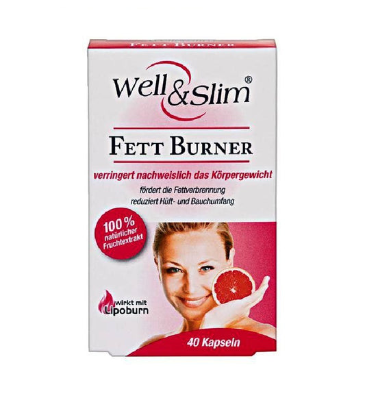 Well & Slim Fat Burner - 40 Capsules