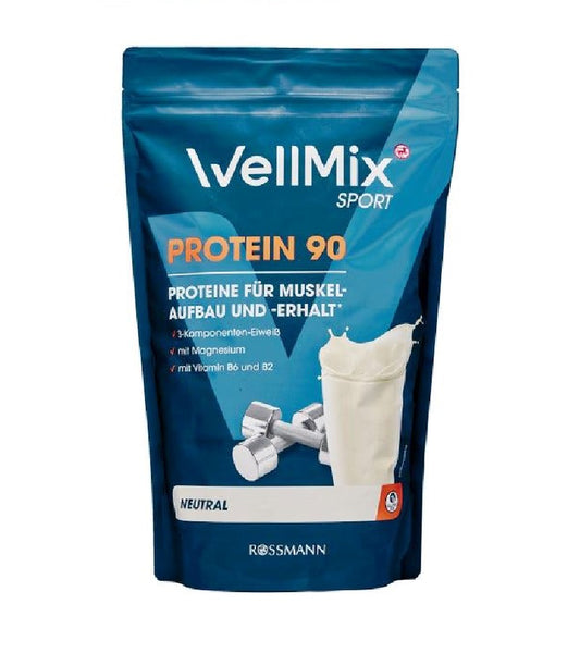 WellMix Sport Protein 90 Neutral Energy Powder Mix - 900 g