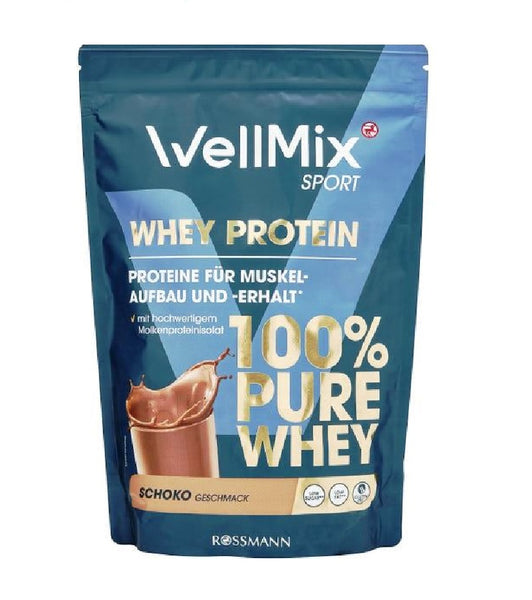 WellMix Sport 100% Pure Whey Protein Chocolate Flavor Powder Mix  - 450 g