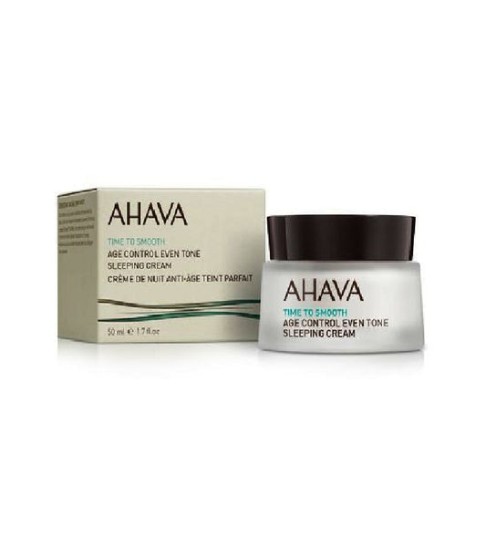 AHAVA Age Control EvenTone Sleeping Cream - 50 ml - Eurodeal.shop