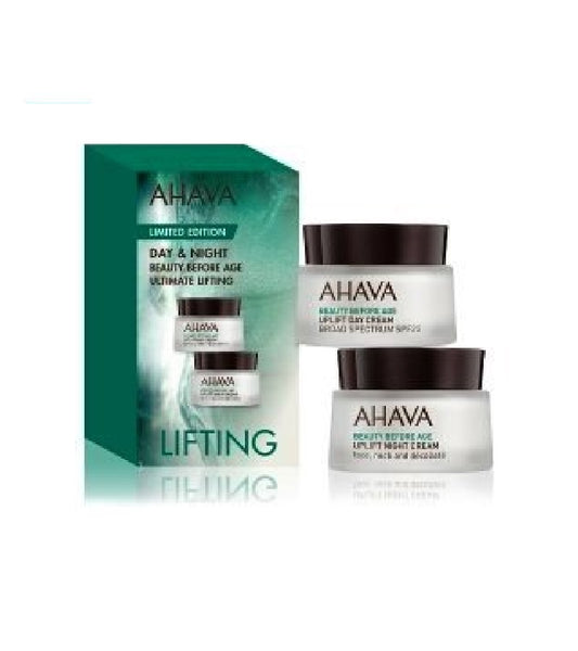 AHAVA Beauty Before Age Uplift Day and Night Face Care Set - 30 ml