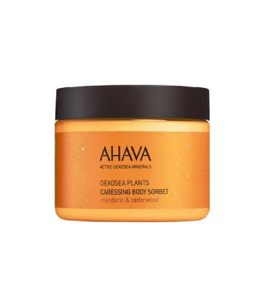 AHAVA Caressing Body Sorbet Mandarin & Cedarwood - 350 g - Eurodeal.shop