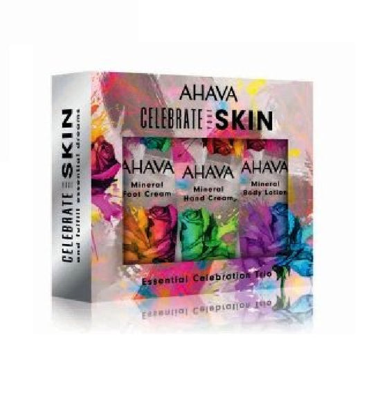 AHAVA Celebrate Your Skin Essential Celebration Trio Body Care Set for Women