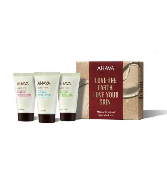 AHAVA Dead Sea Water 3-piece Gift Set IV. for women