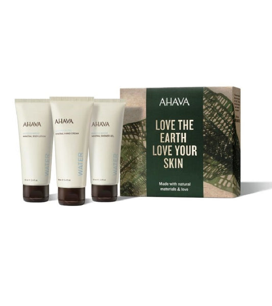 AHAVA Dead Sea Water 3-piece Gift Set VI. for women