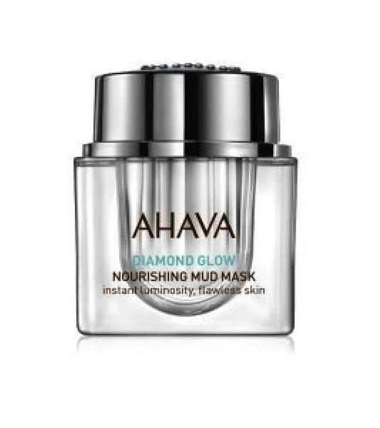 AHAVA Diamond Glow Mud Facial Mask for Women - 50 ml