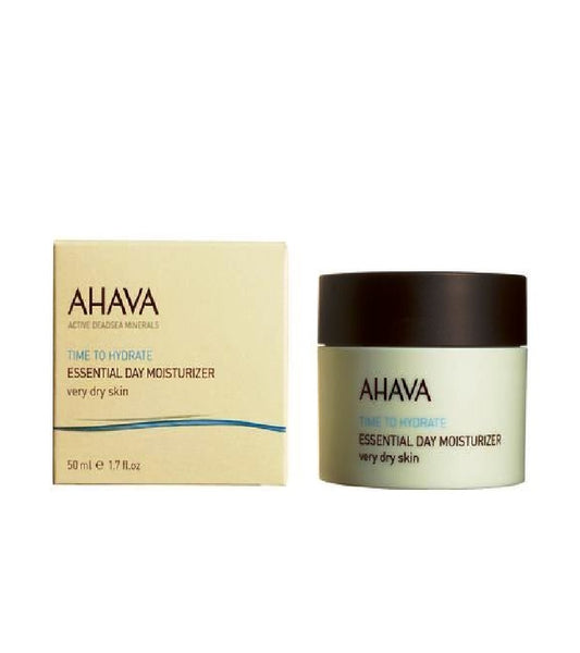 AHAVA Essential Day Moisturizer, Very Dry Skin - 50 ml - Eurodeal.shop