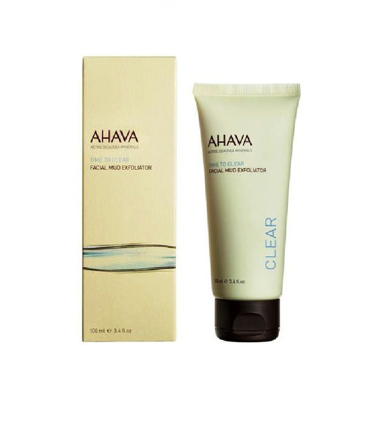 AHAVA Facial Mud Exfoliator - 100 ml - Eurodeal.shop