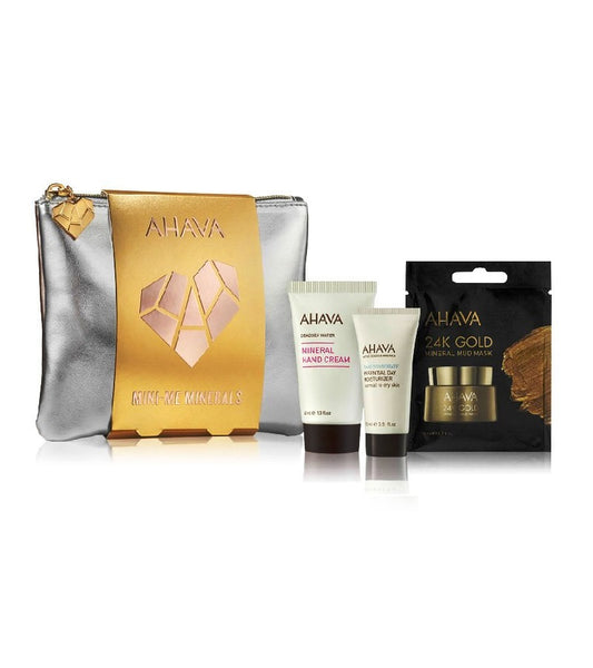 AHAVA Holiday 2020 Mini-Me Minerals Body Care Set