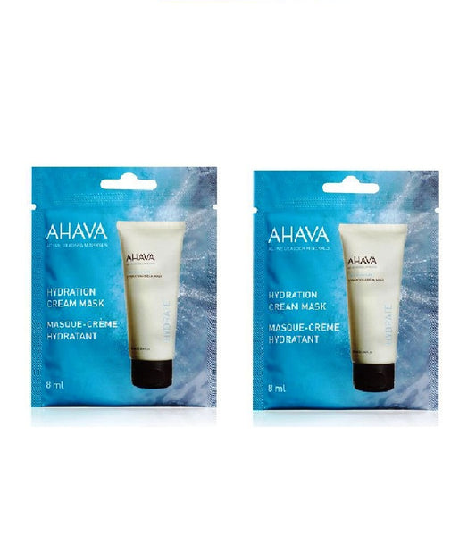 2x Pack AHAVA Hydration Cream Mask Single Use - 16 ml - Eurodeal.shop