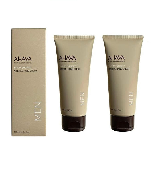 AHAVA Time to Energize - Mineral Hand Cream for Men - 100 ml