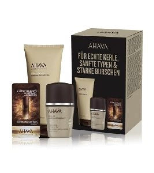 AHAVA Time to Energize Body Care Set for Men
