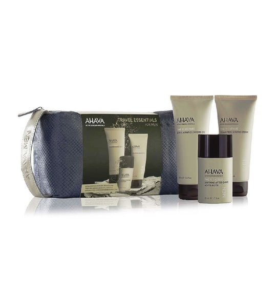 AHAVA Time to Energize Travel Essentials Body Care Set for Men