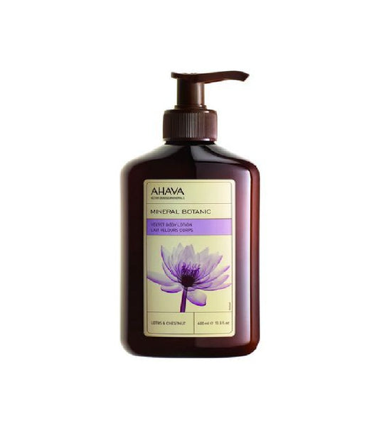 AHAVA Velvet Body Lotion Lotus Blossom & Chestnut - 400 ml - Eurodeal.shop